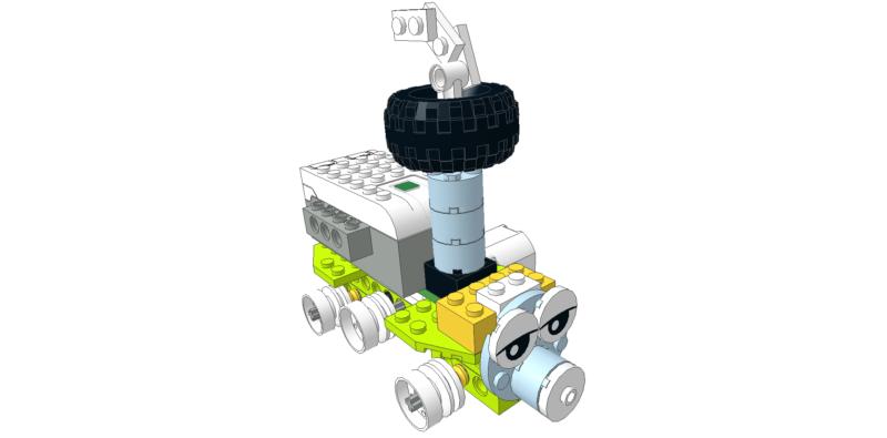 Lego wedo tren fácil