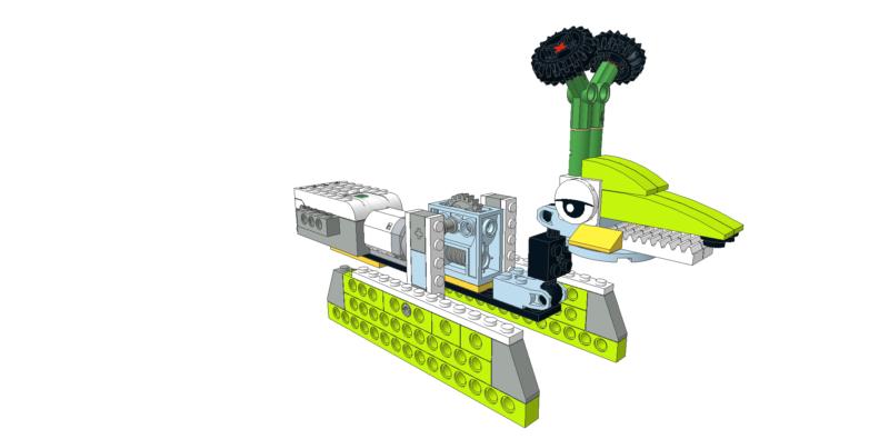 048 Lego wedo caminador pies planos