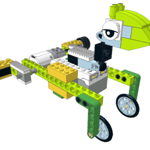 052 Lego wedo rana saltando