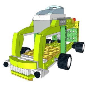 065 Lego wedo autobus