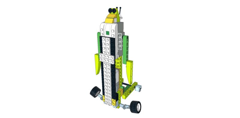 218 Lego wedo caminante vertical