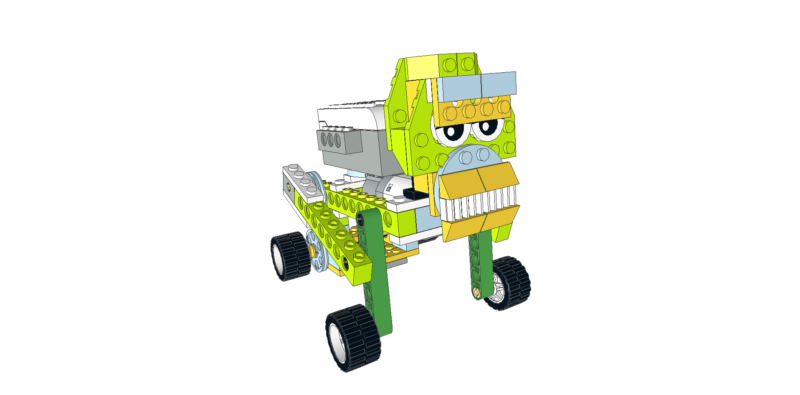 223 Lego Wedo mono caminando