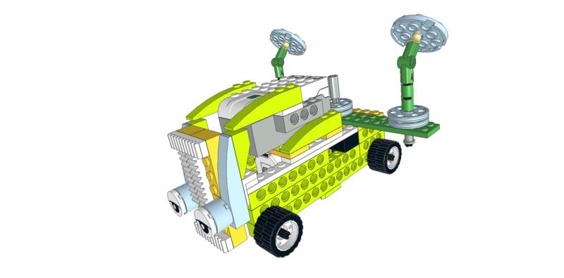 271 Lego wedo camión radar