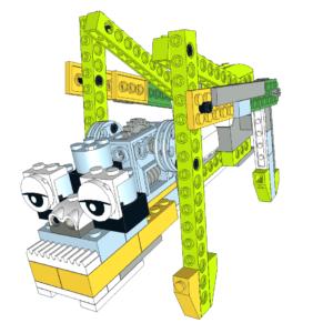 280 Lego wedo araña