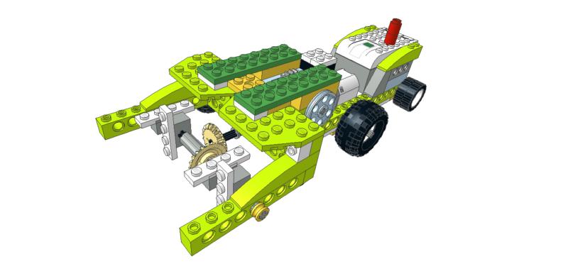 401 Lego wedo Tractor