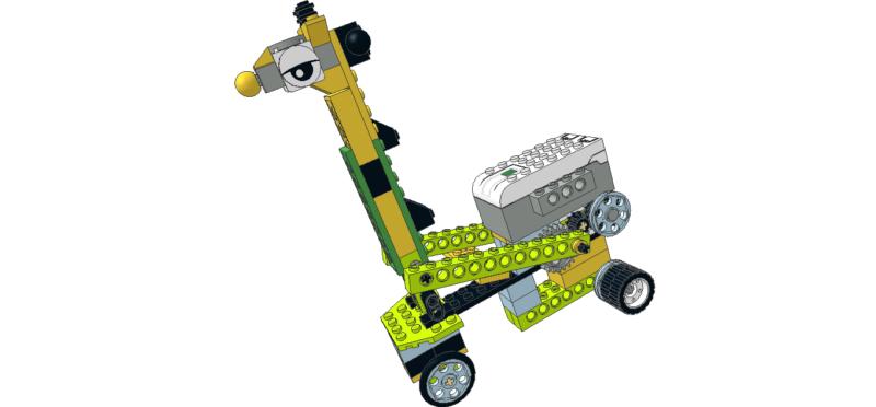 417 Lego wedo Jirafa