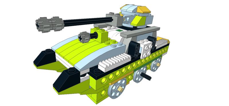 419 Lego wedo Tanque