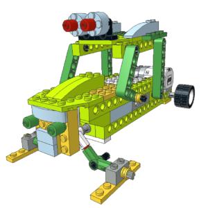 420 Lego wedo buggy de nieve - standard