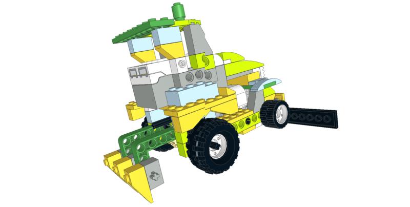 430 Lego wedo tractor multiusos