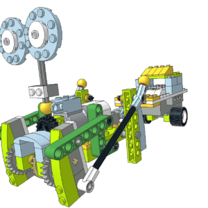 441 Lego wedo animal arrastrando
