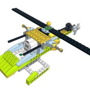 461 Lego wedo helicoptero apache