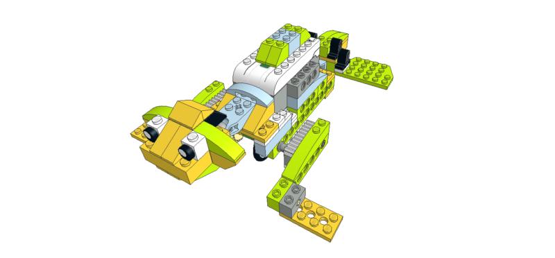 467 Lego wedo león marino