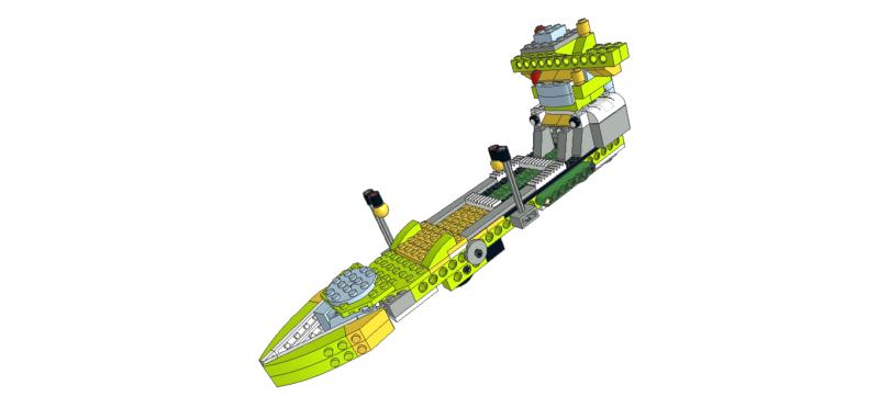 472 Lego wedo petrolero - standard