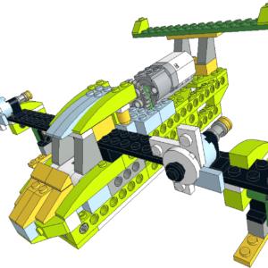 474 Lego wedo Hidroavión