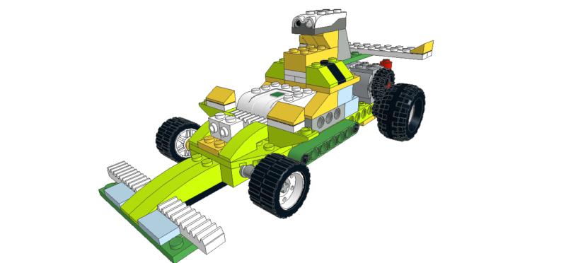 477 Lego wedo Formula 3000