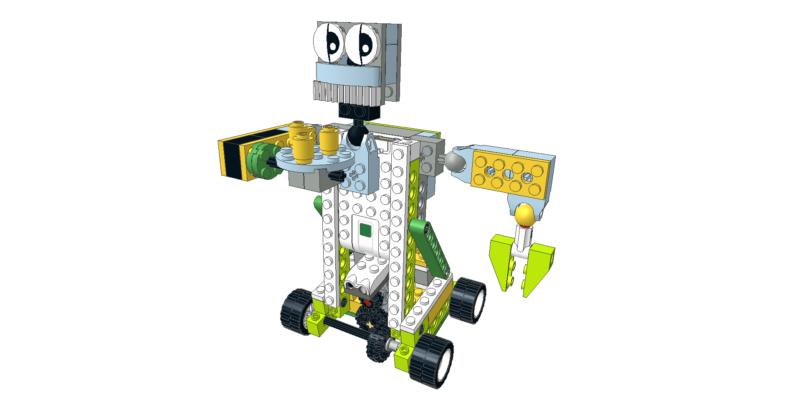 103 Lego wedo camarero