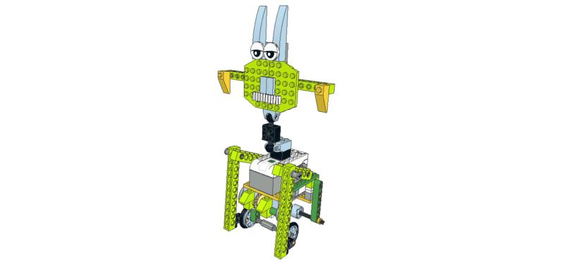 237 Lego wedo extraterrestre corredor