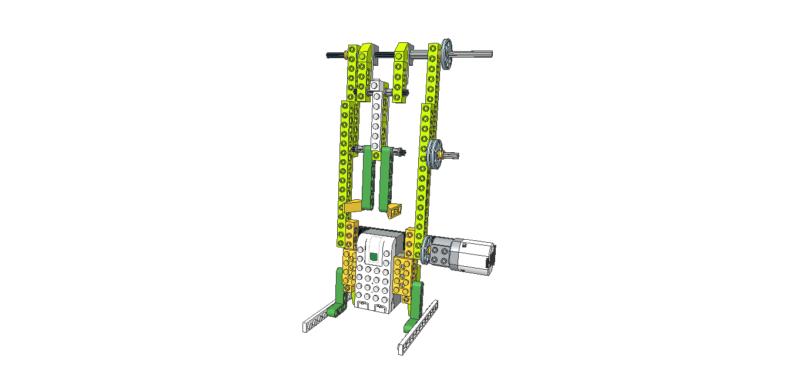 253 Lego wedo bot gimnasta