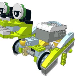404 Lego wedo rana corredora