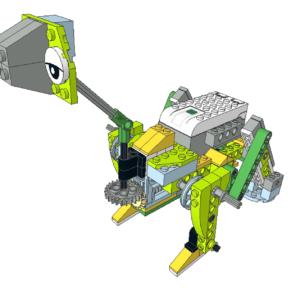 416 Lego wedo Dino visión 360