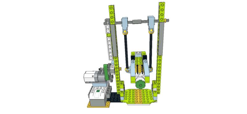 444 Lego wedo góndola de feria