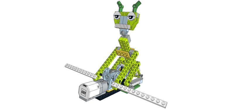 449 Lego wedo piraguista