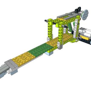 455 Lego wedo puente levadizo
