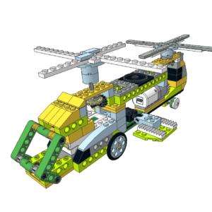 474 Lego wedo Chinook