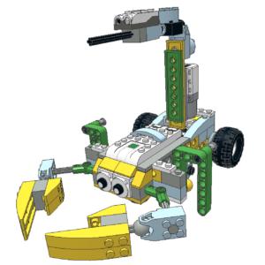 482 Lego wedo escorpión que camina