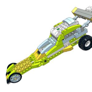 483 Lego wedo Dragster car